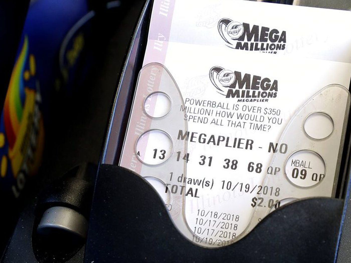 2 Second Tier 1m Mega Millions Tickets Sold In Illinois Jackpot