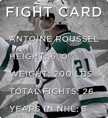 Roussel Fight Card