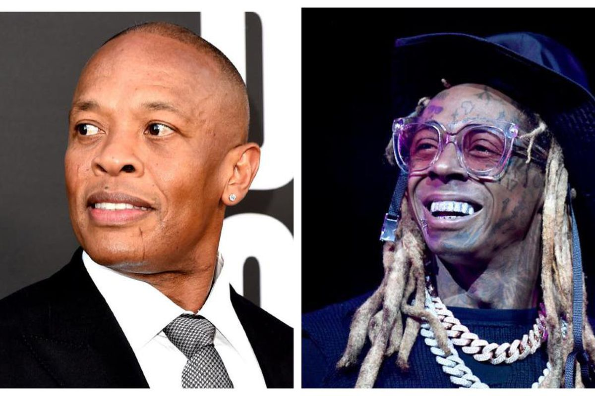 Dr, Dre and Lil Wayne