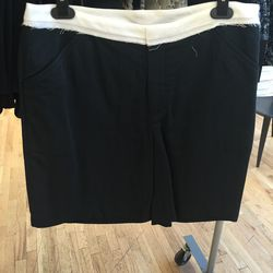 Band of Outsiders colorblocked trouser shorts, size 4, $118.50 (from $395)