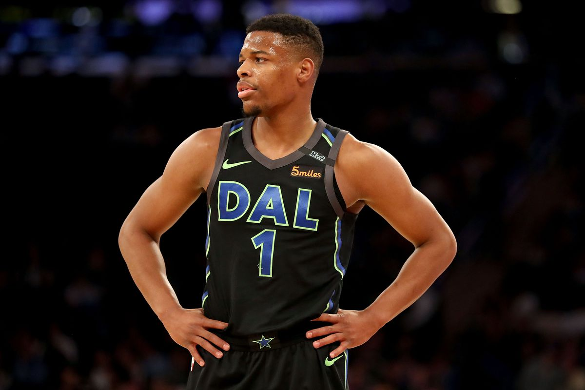 sneakers for cheap 263c5 27882 Dennis Smith Jr. explains how being in the NBA completely ...