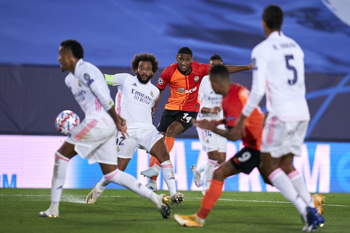 Real Madrid v Shakhtar Donetsk: Group B - UEFA Champions League