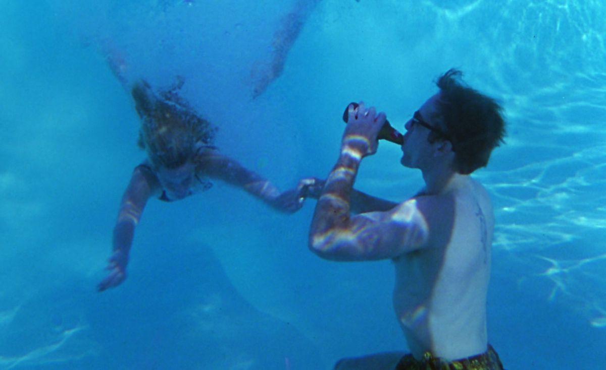 leaving las vegas: nicolas cage drinks a beer underwater