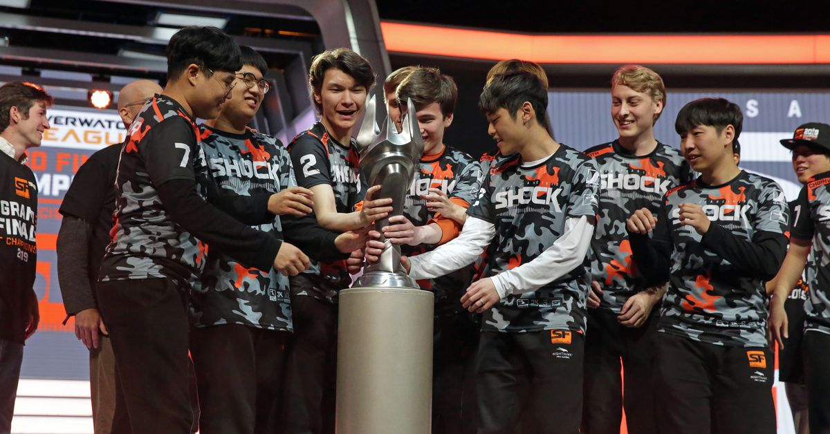 The Overwatch Leagues Grand Finals championship will take...