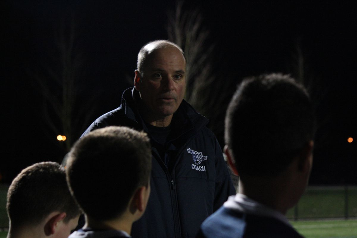 Whether an early-morning match or an evening practice, Doug Long is a constant for Richmond Soccer.