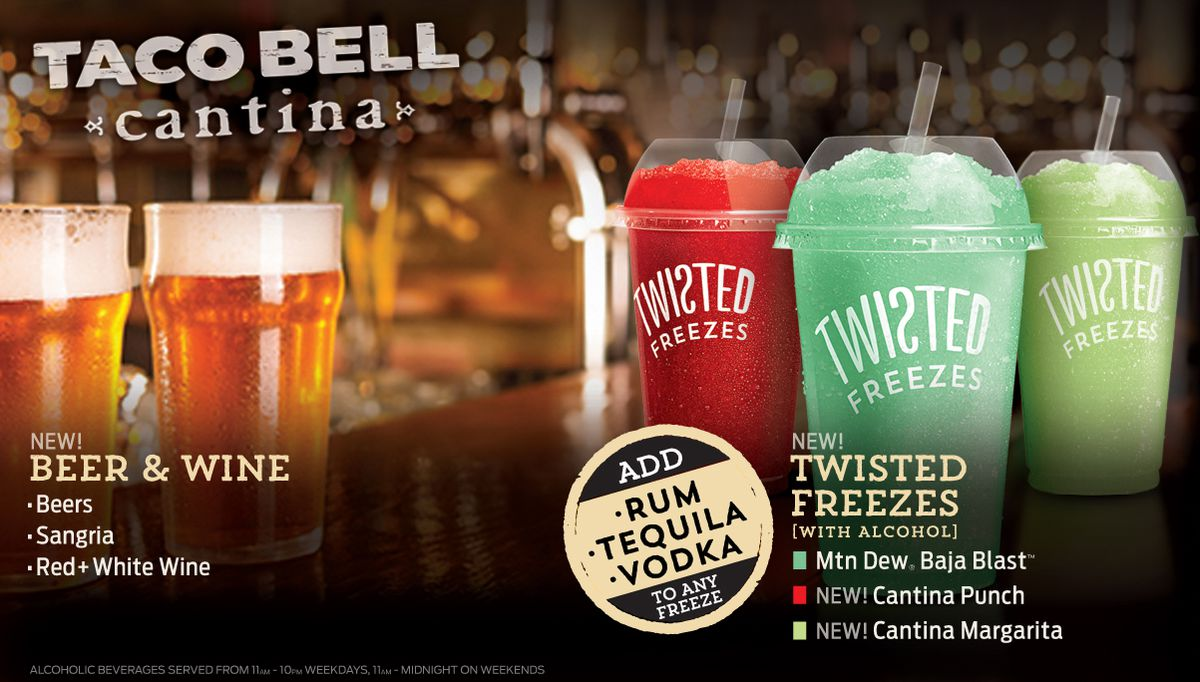 Boozy Bell menu 1