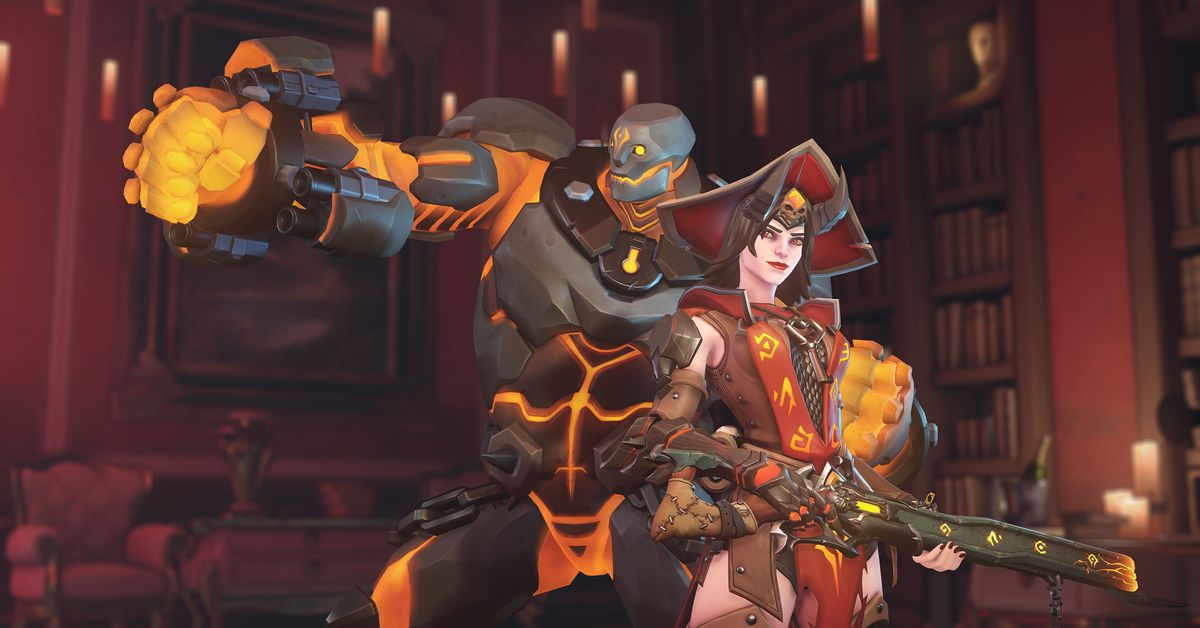 2020 Overwaych Halloween Skins Overwatch Halloween Terror 2019: event dates, new skins revealed