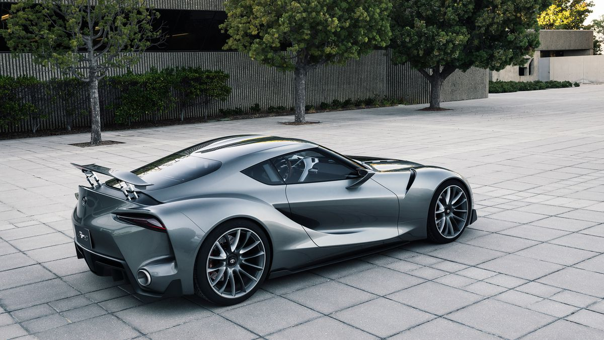 Toyota Makes Another Beautiful Gran Turismo Supercar