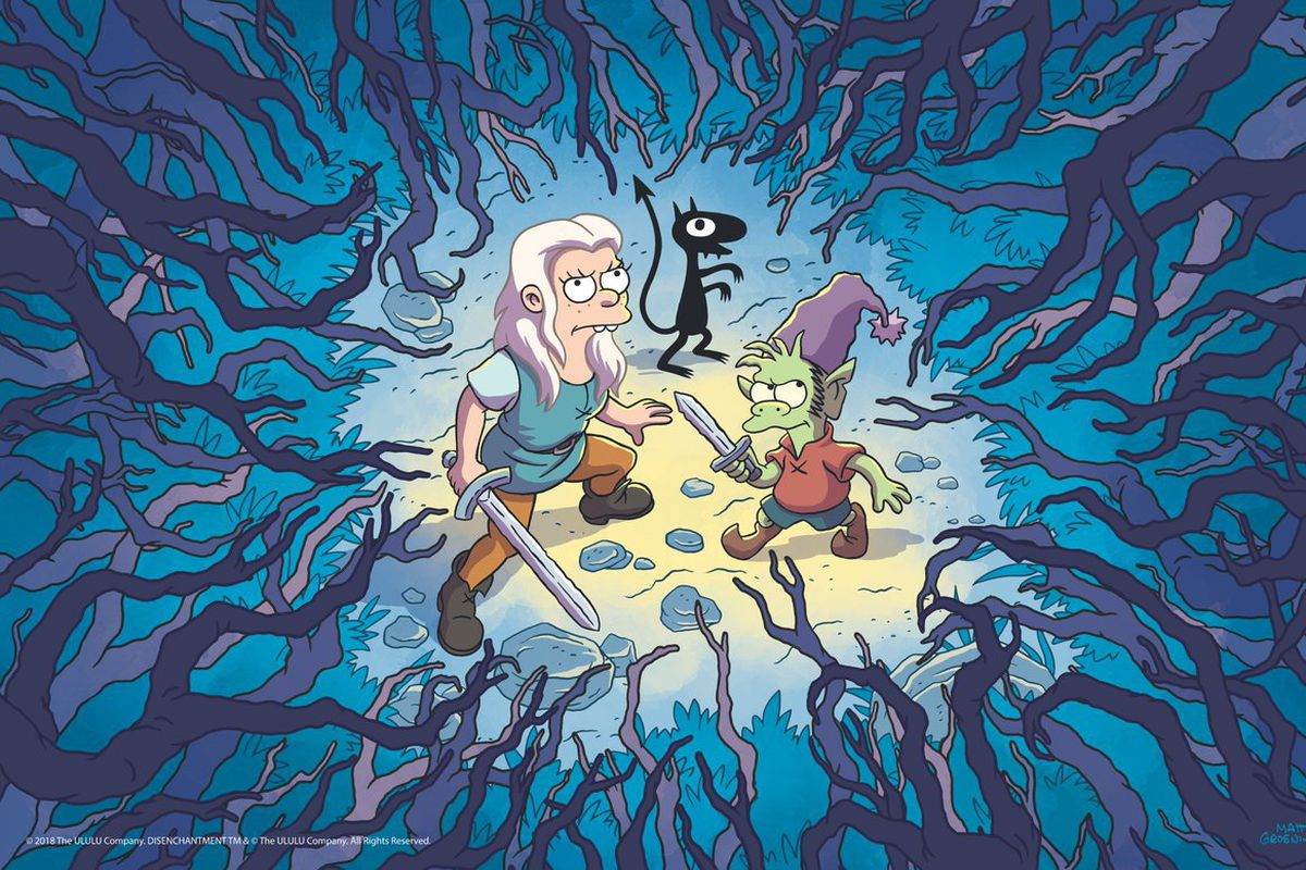 matt groening s new animated fantasy show will premiere on netflix