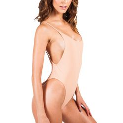 Static's best-selling nude suit is super chic.