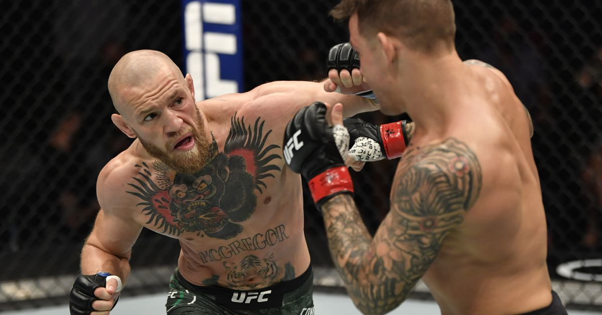 Conor McGregor threatens 'inbred hillbilly' Dustin Poirier that UFC 264 fight 'is off' amid donation dispute