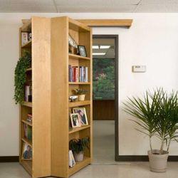 "For $3,000 you can buy this <a href=""http://www.opulentitems.com/Hidden-Bookcase.html"" rel=""nofollow"">hidden bookcase</a> indulge your secret fantasy of having a secret passageway."