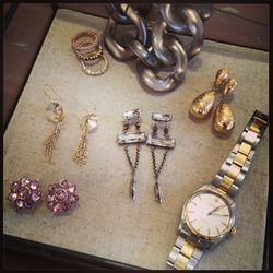 Some of Megan and Moria Flynn's favorite costume pieces from Erickson Beamon, their own collection, and more