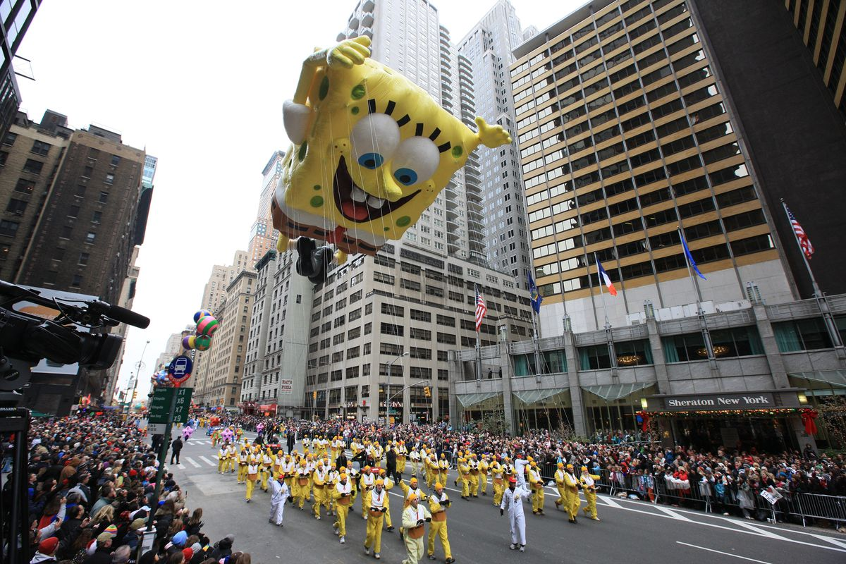 Nickelodeon at the 84th Annual Macy's Thanksgiving Day Parade