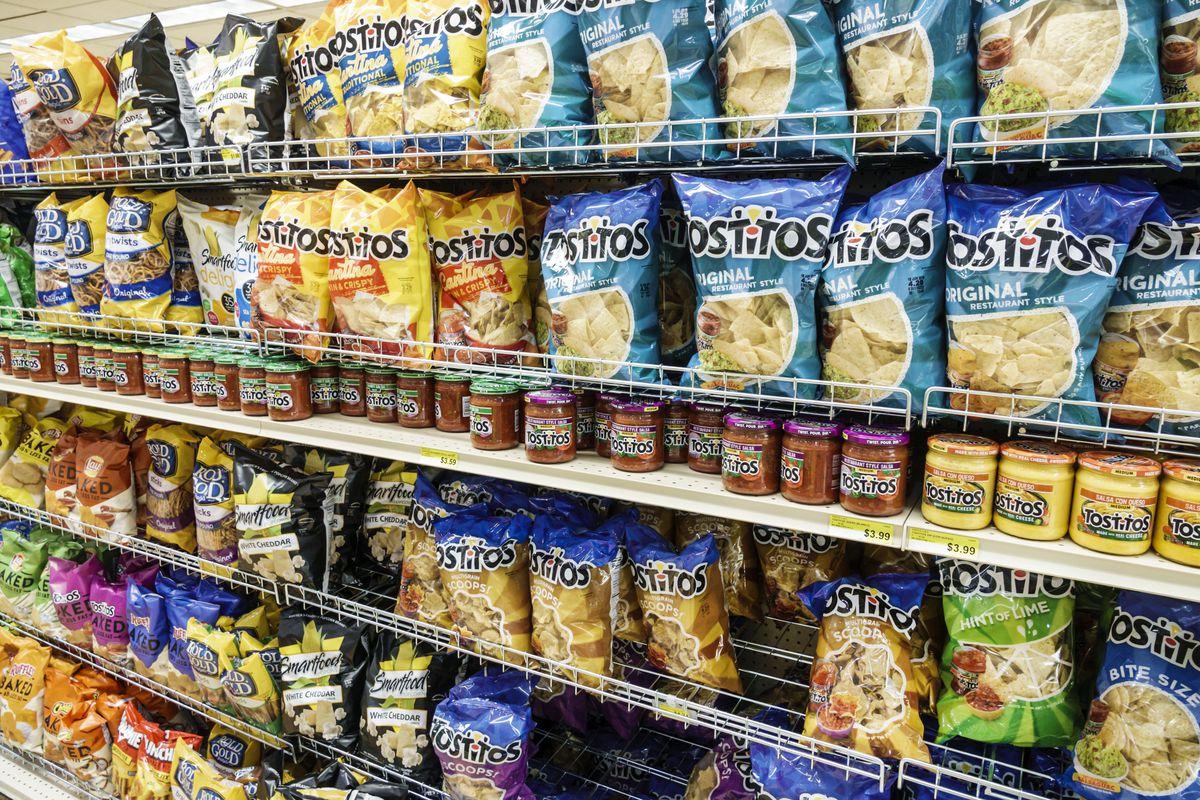 Sanibel Island, Jerrys Foods, grocery store, chips aisle