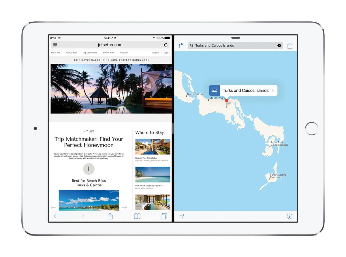 iOS 9 Split Screen