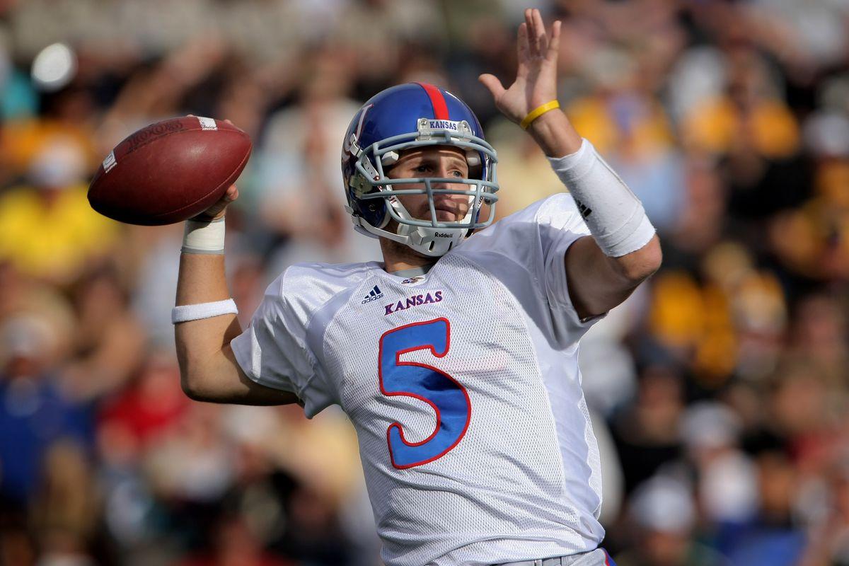 Kansas Jayhawks Football  Todd Reesing reflects on the 2007 College Football  Season eb0110092