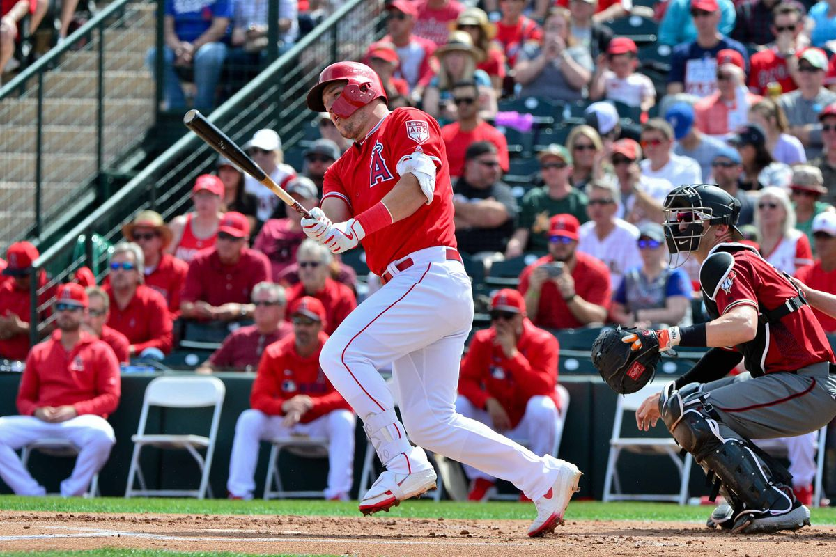 MLB: Spring Training-Arizona Diamondbacks at Los Angeles Angels