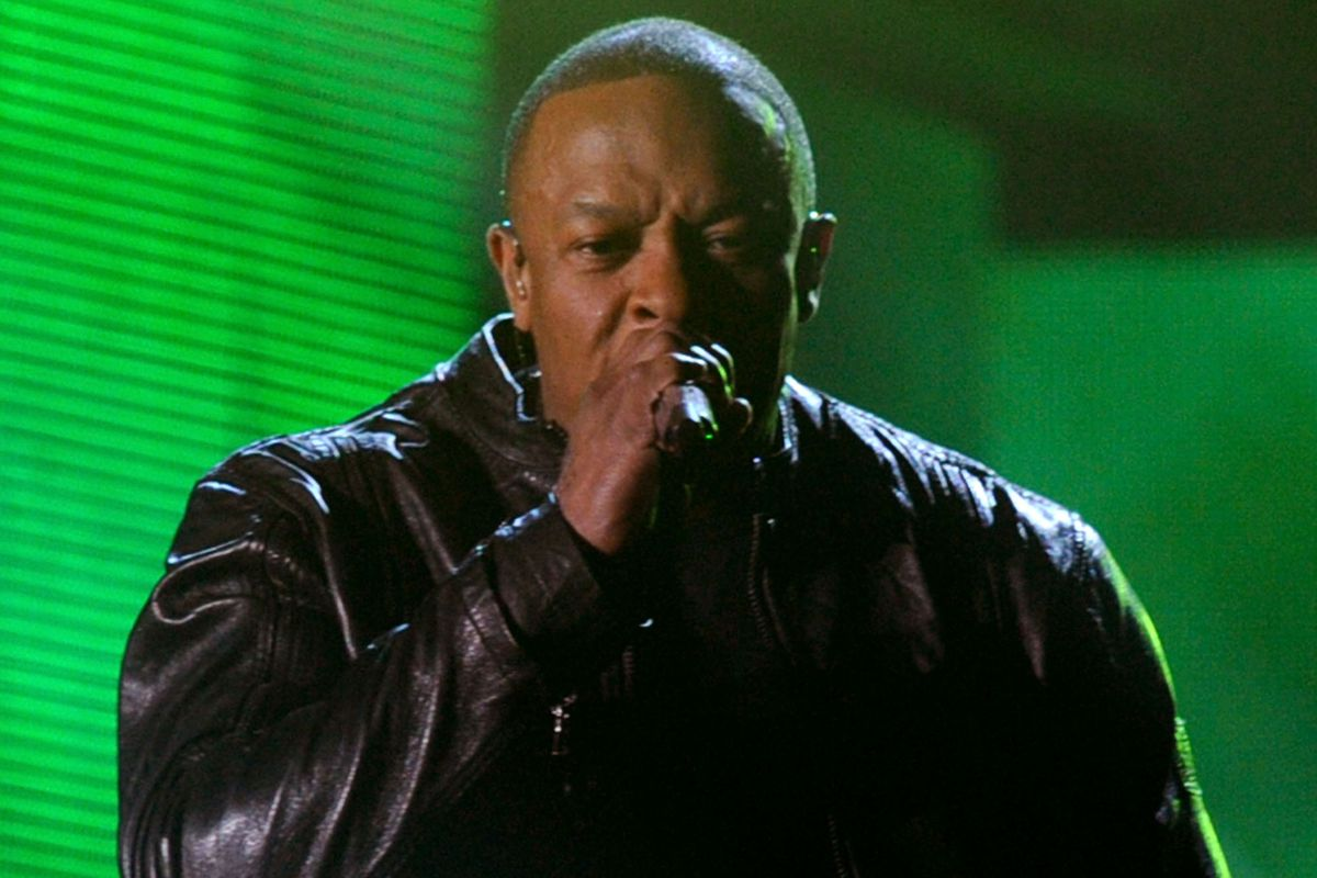 Dr. Dre performs onstage during The 53rd Annual GRAMMY Awards. He may be the most profane rapper of all time.