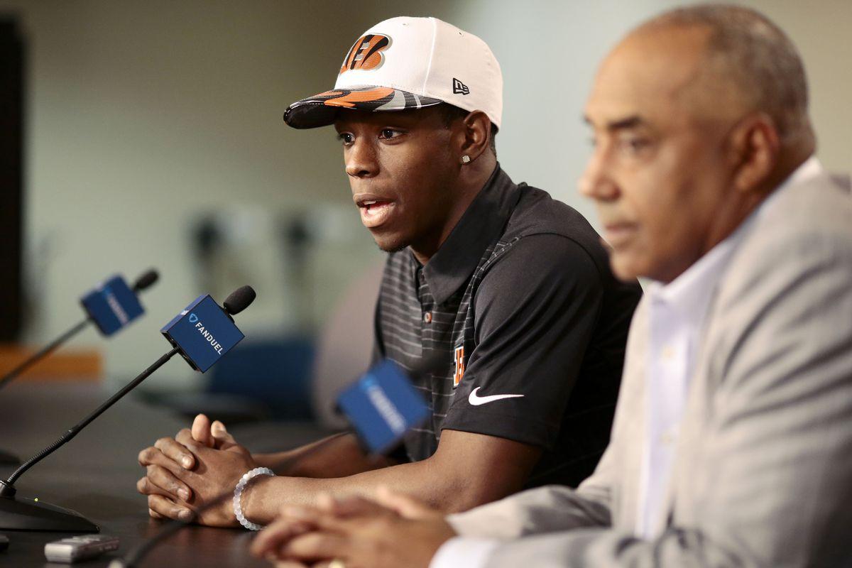 NFL: Cincinnati Bengals-John Ross Press Conference