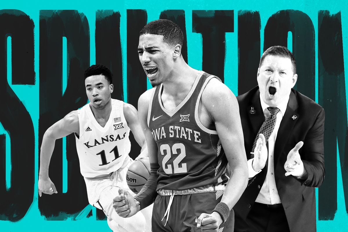 Big 12 College Basketball Teams Ranked For The 2019 2020