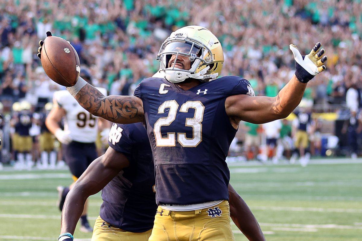 COLLEGE FOOTBALL: SEP 11 Toledo at Notre Dame