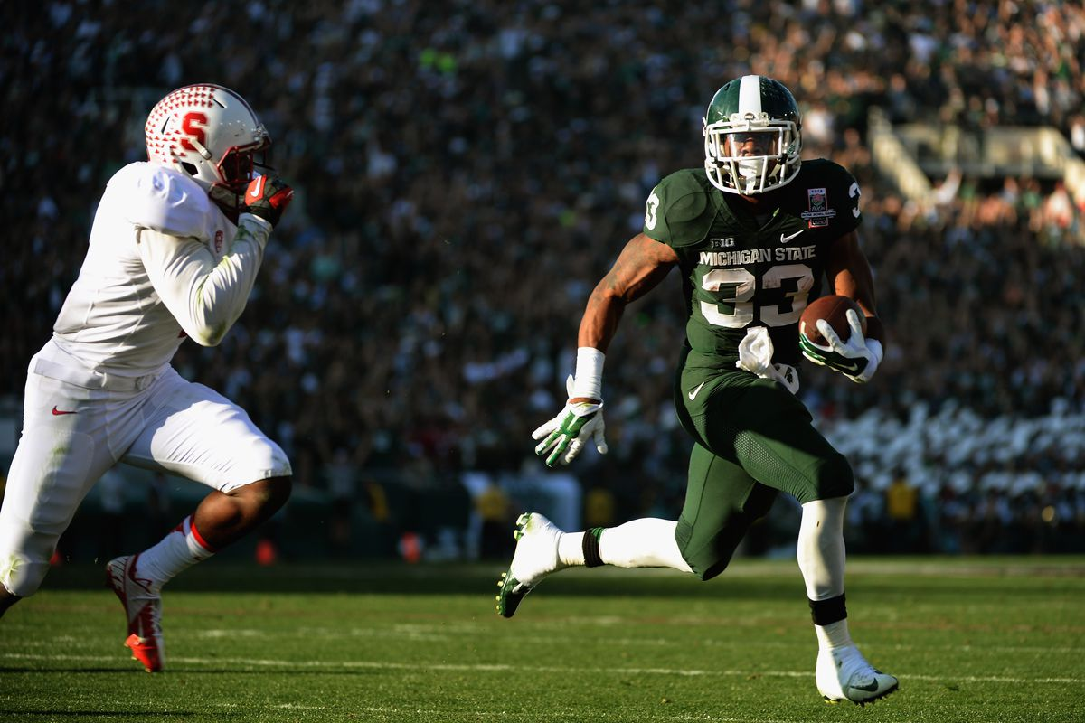 Jeremy Langford and the Spartans are involved in a number of high-profile games, not only nationally but within the Big Ten