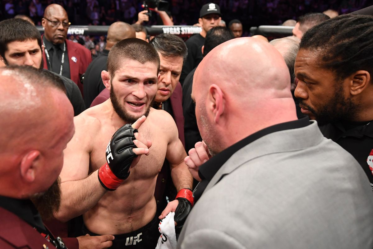 Khabib Set To Meet Dana White In Abu Dhabi About Fighting Future Mmamania Com