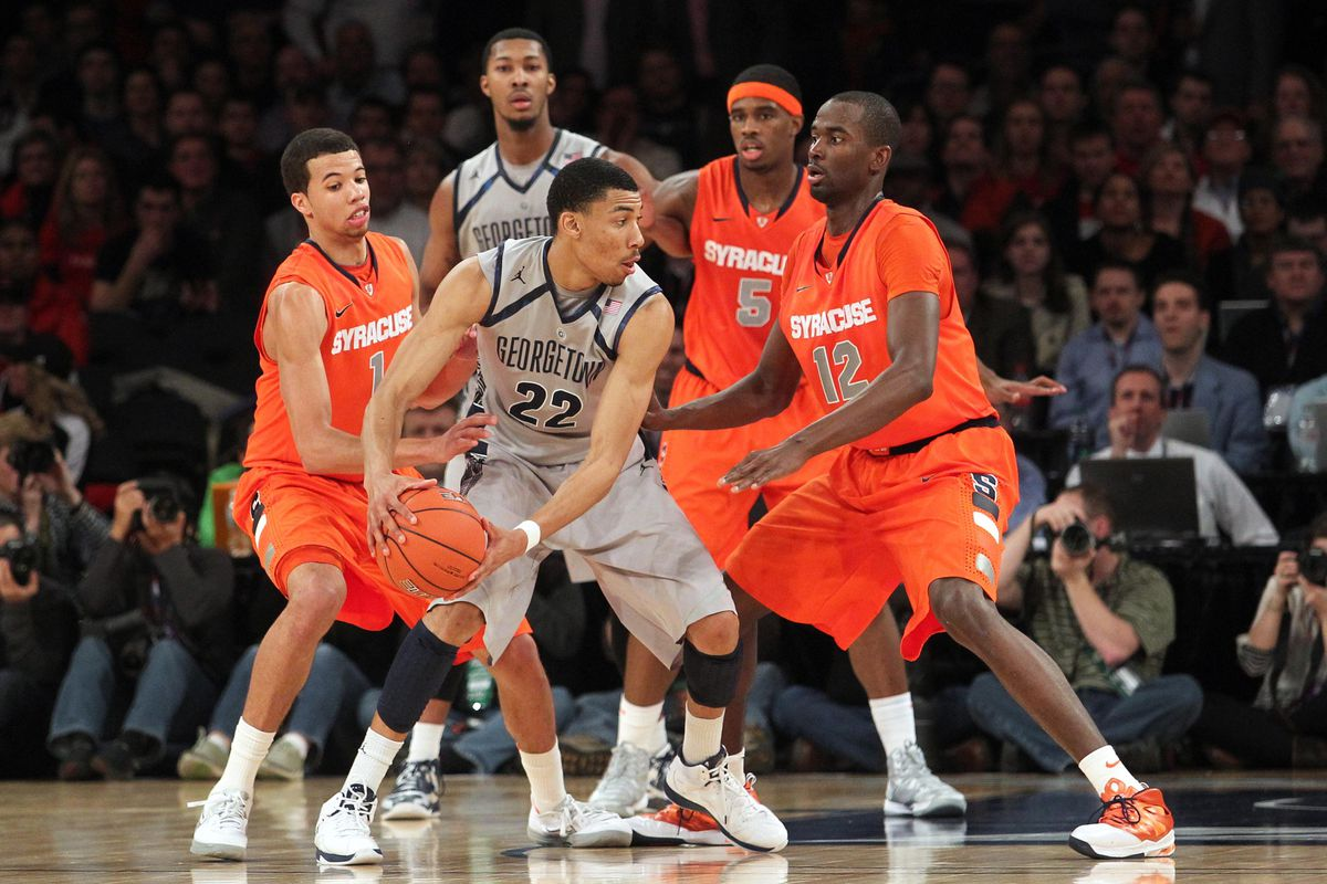 syracuse and georgetown to renew rivalry in 2015-16 - troy nunes is