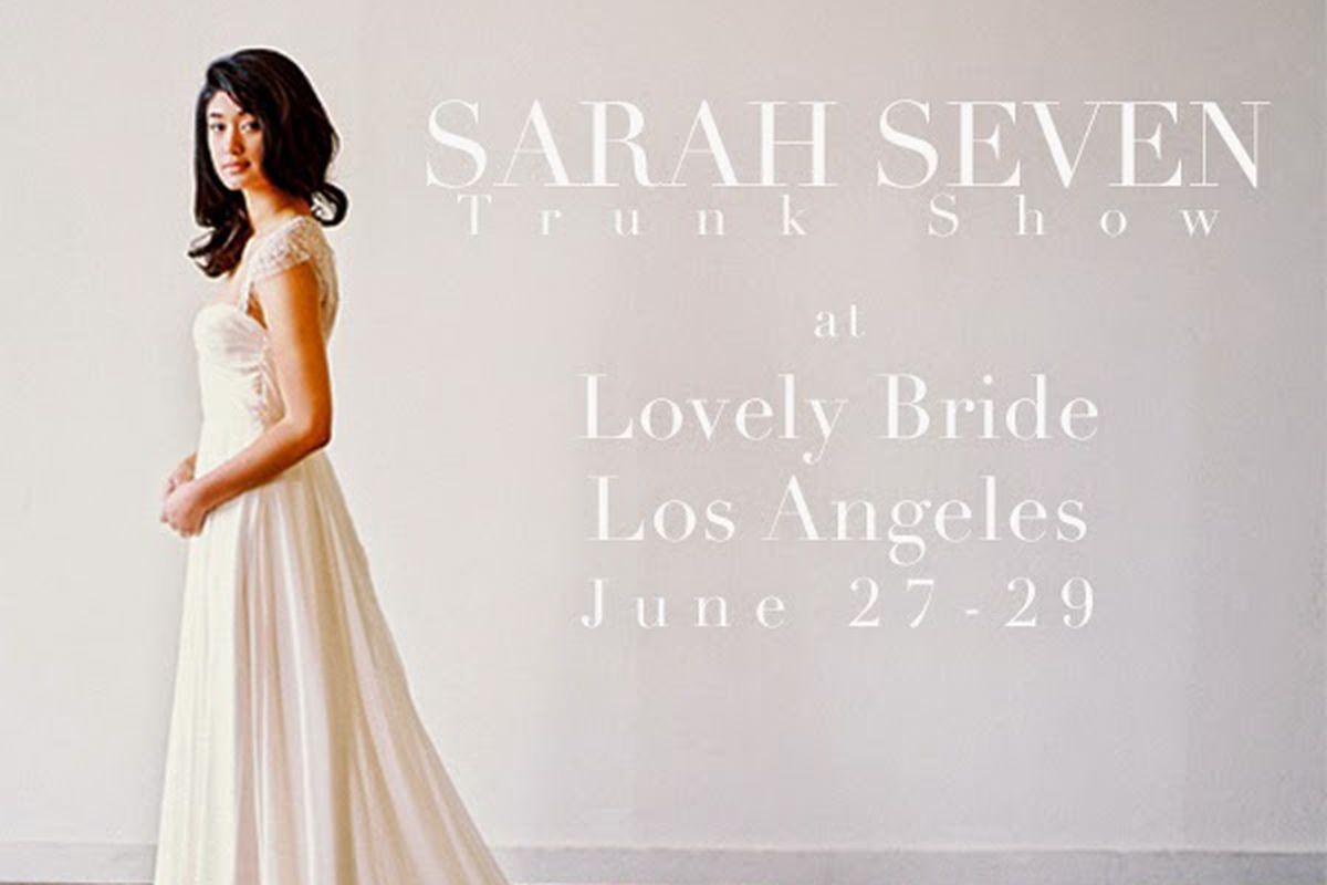 Flyer via Sarah Seven
