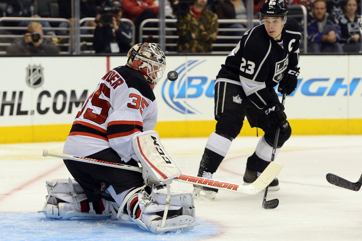 Cory Schneider was awesome for most of November 2013, notably against the Kings.