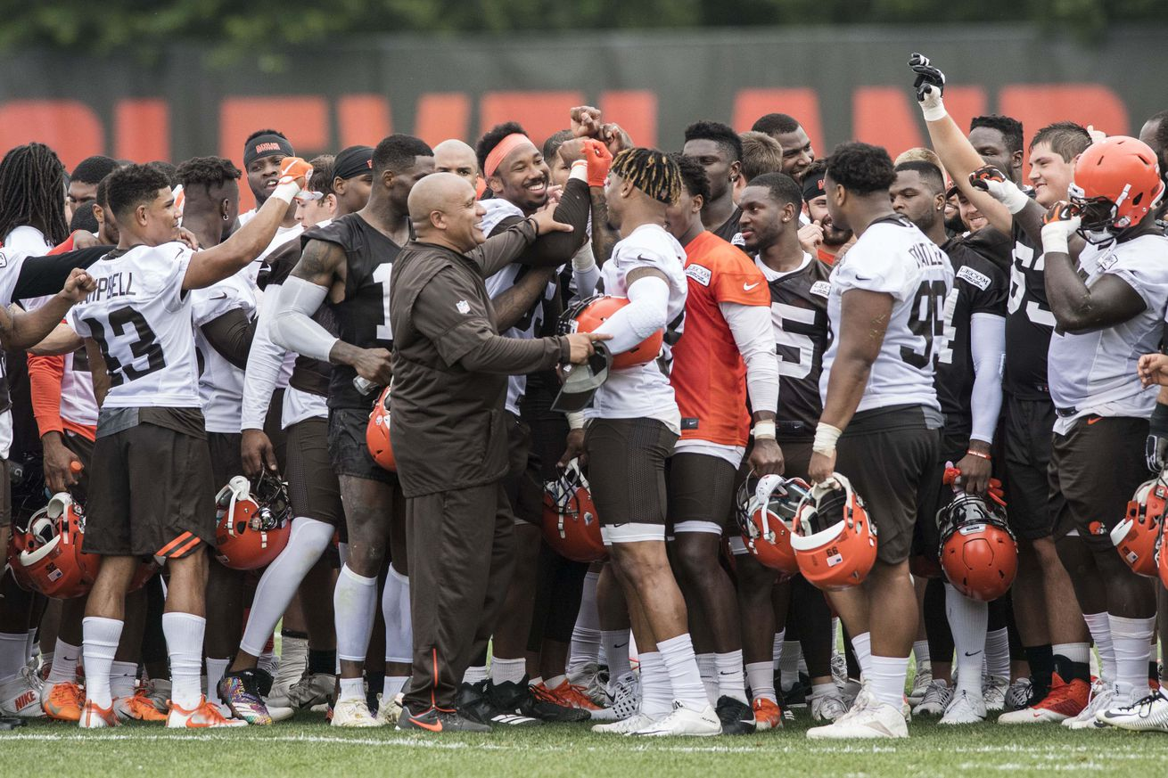 Rookies and veterans to report to Browns training camp on July 25