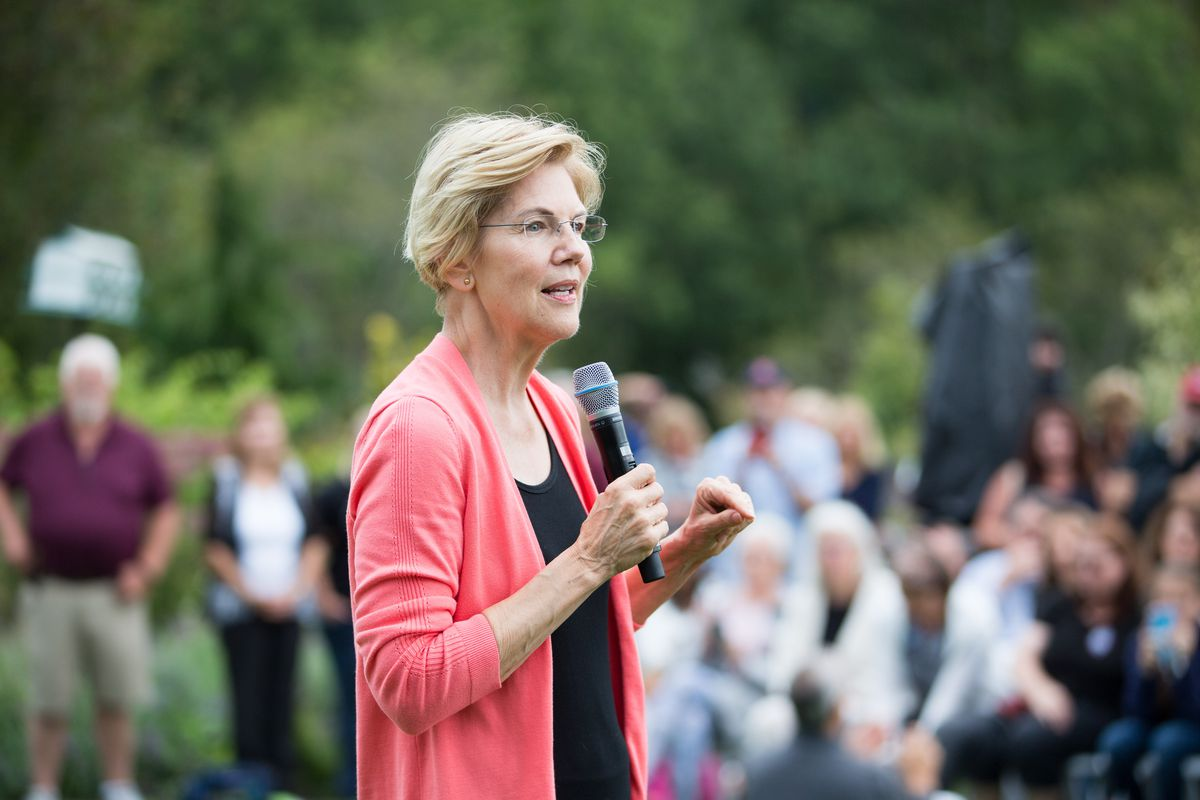 Sen. Elizabeth Warren Holds Labor Day House Party In New Hampshire
