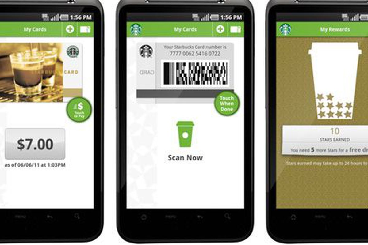 Mobile payment via Android.