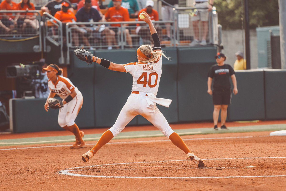 Miranda Elish wills Texas softball into Super Regional ...