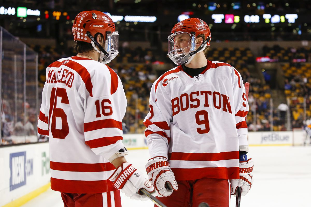 Jack Eichel and John MacLeod grew up close to UMass Lowell's campus.