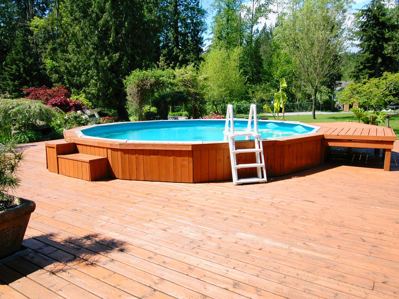 What To Know Before Building A Deck Around Your Above Ground Pool This Old House