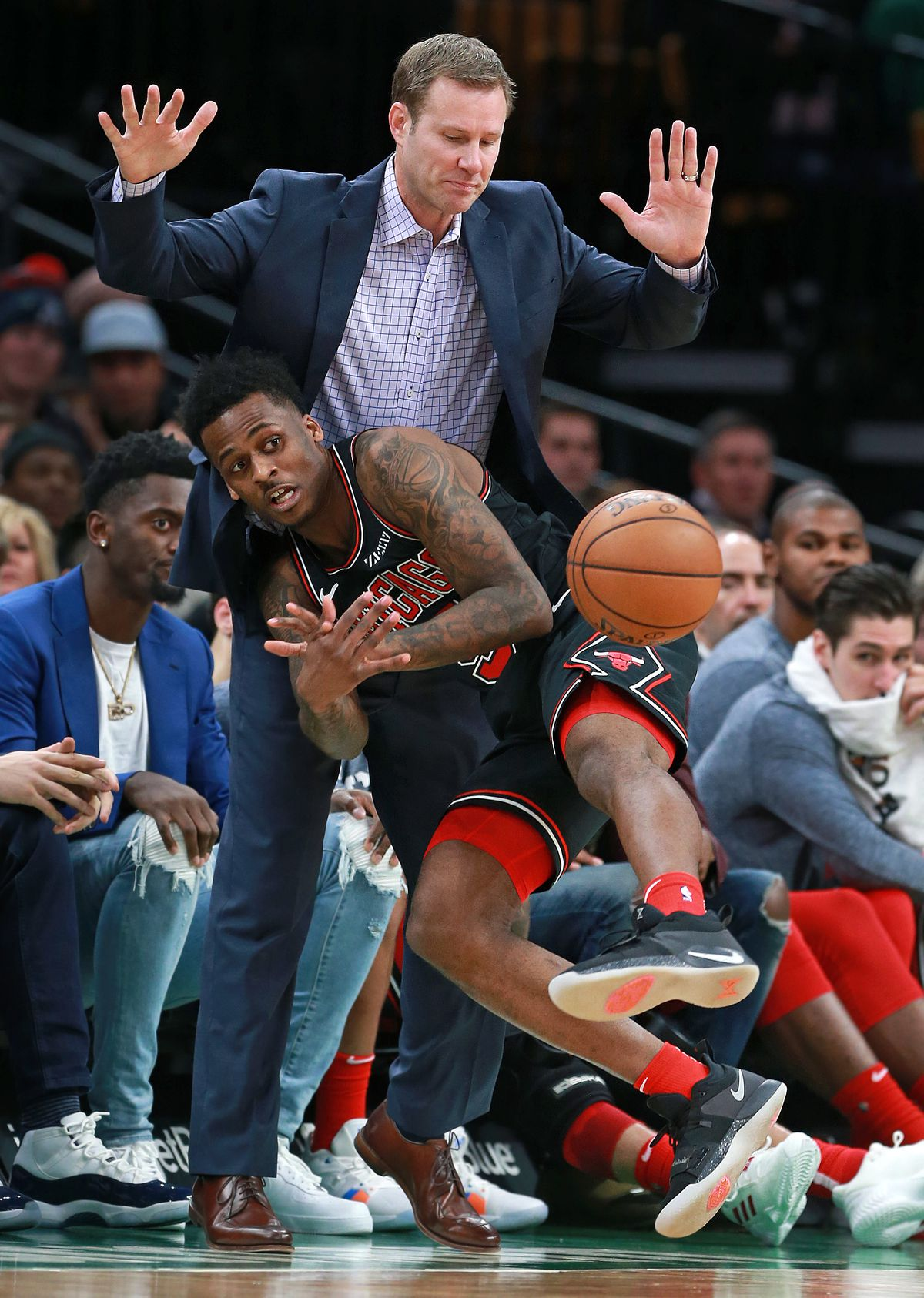 Chicago Bulls Vs Boston Celtics At TD Garden