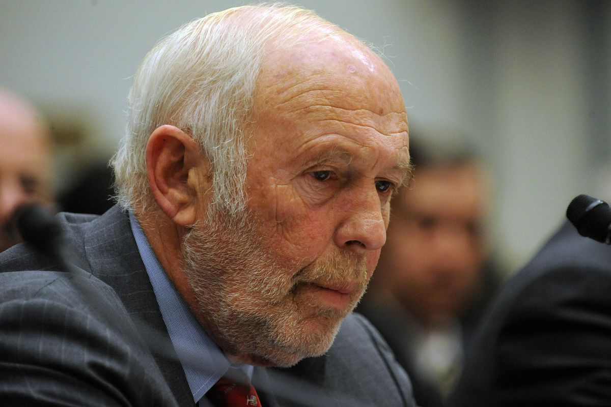 James Simons, founder of Renaissance Technologies, at a 2008 House hearing.