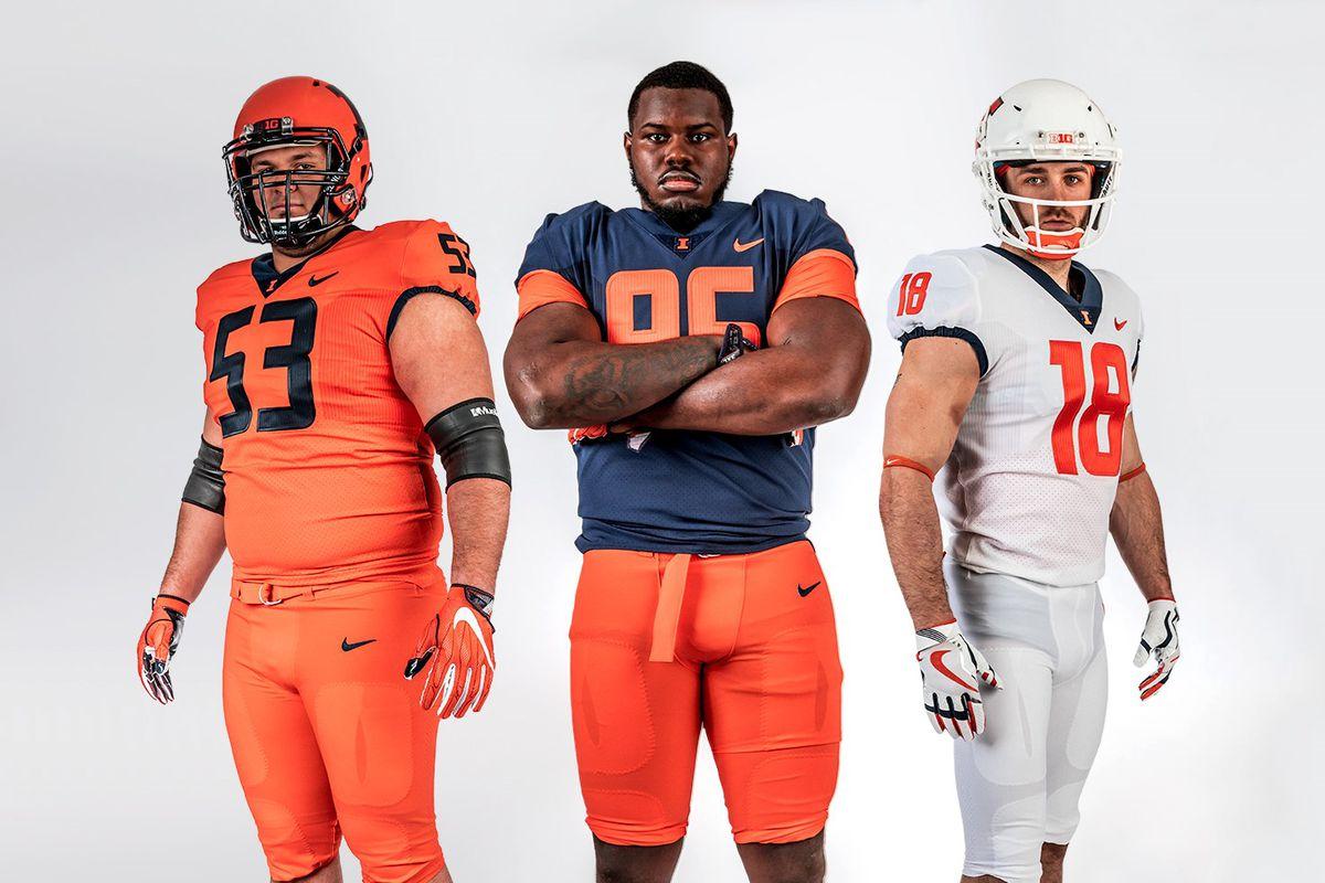 d9decadc2 Nike basically just gives Illinois Syracuse's football uniforms ...