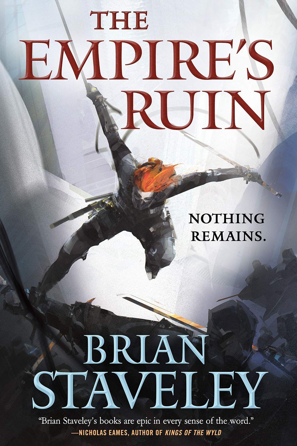 The Empire's Ruin book cover