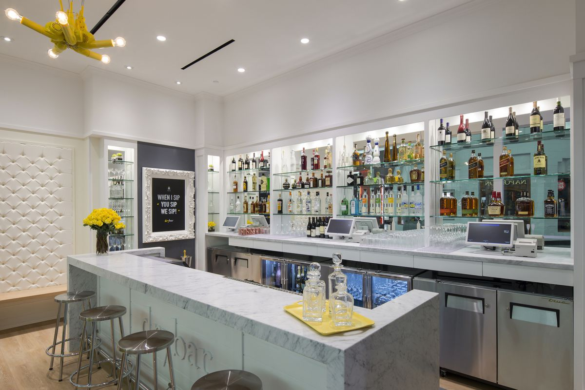 Yes, Drybar Has Its Own Cocktail Bar - Eater Vegas