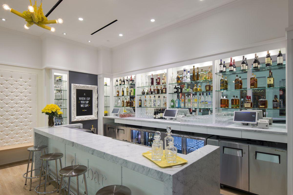 Yes, Drybar Has Its Own Cocktail Bar - Eater Vegas
