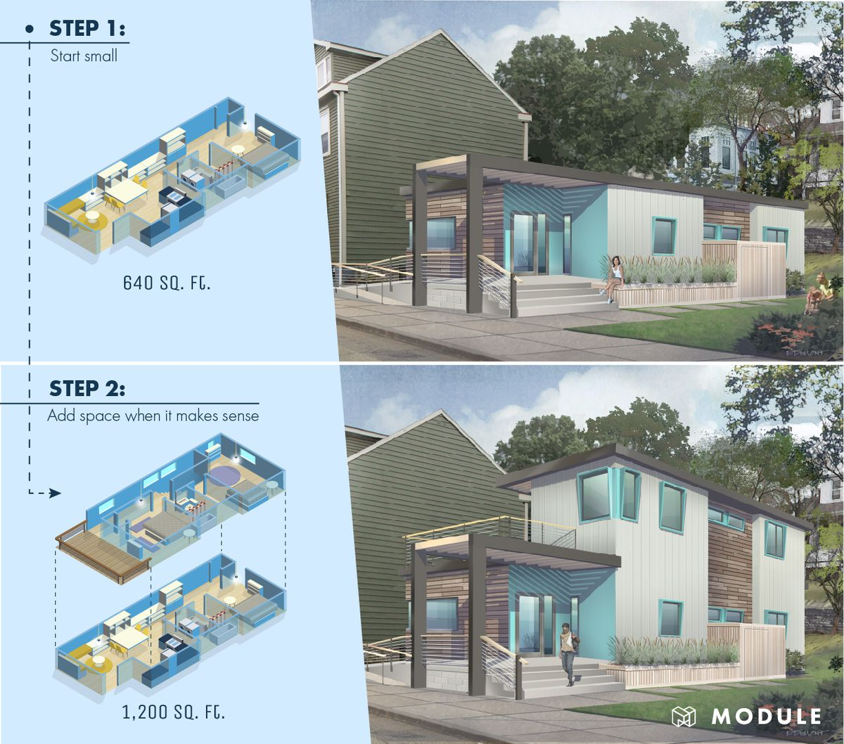 This housing startup designed homes that grow with their ...