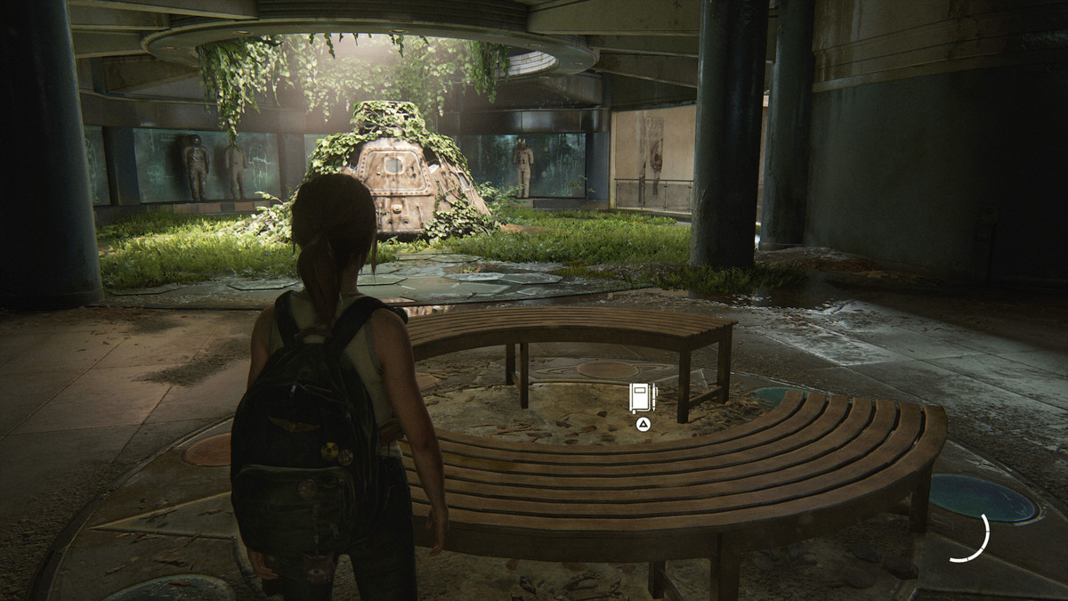 Space Capsule Journal Entry collectible The Last of Us Part 2 Seattle Day 1 (Ellie)