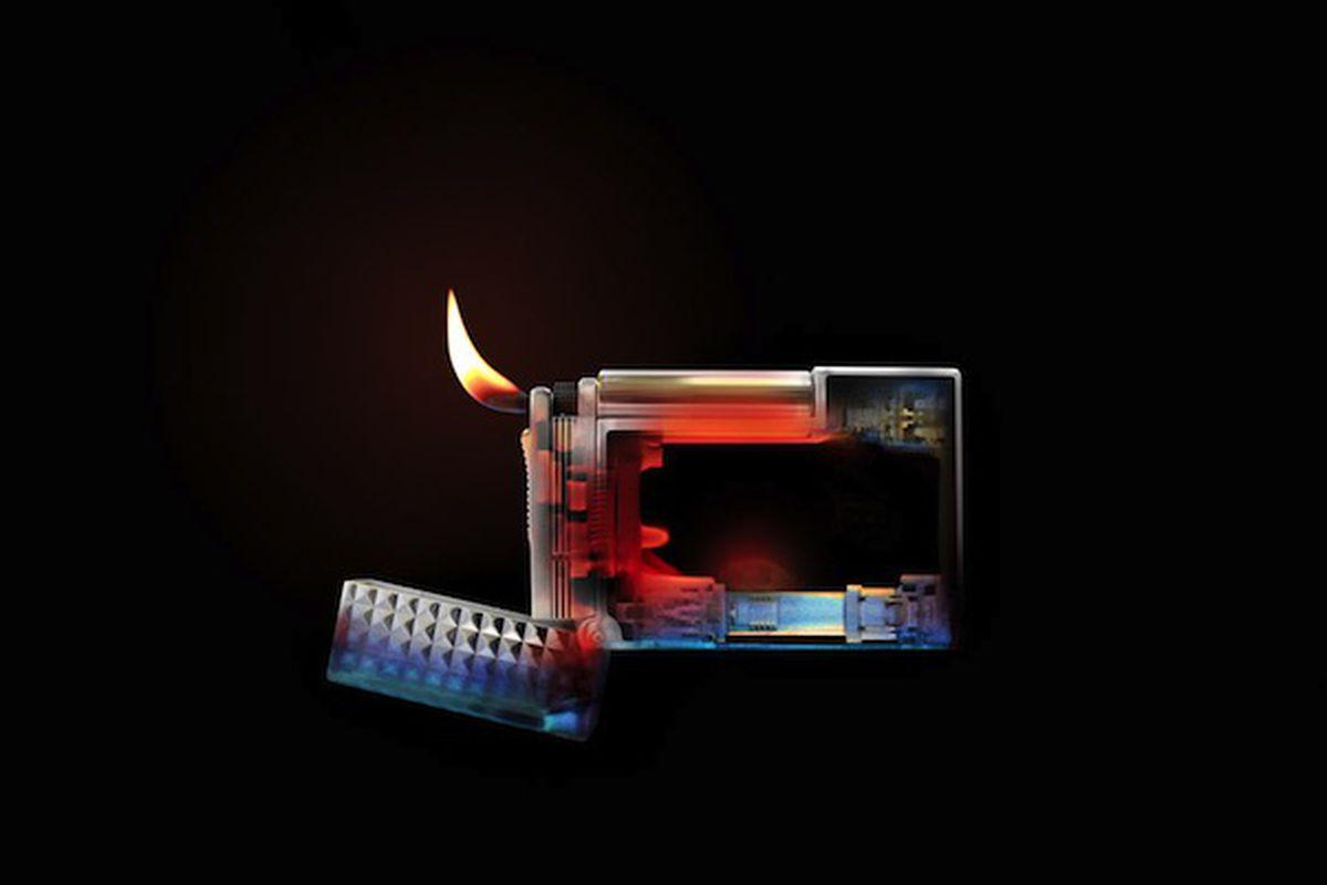 ST lighter (LuxInside via Wired)