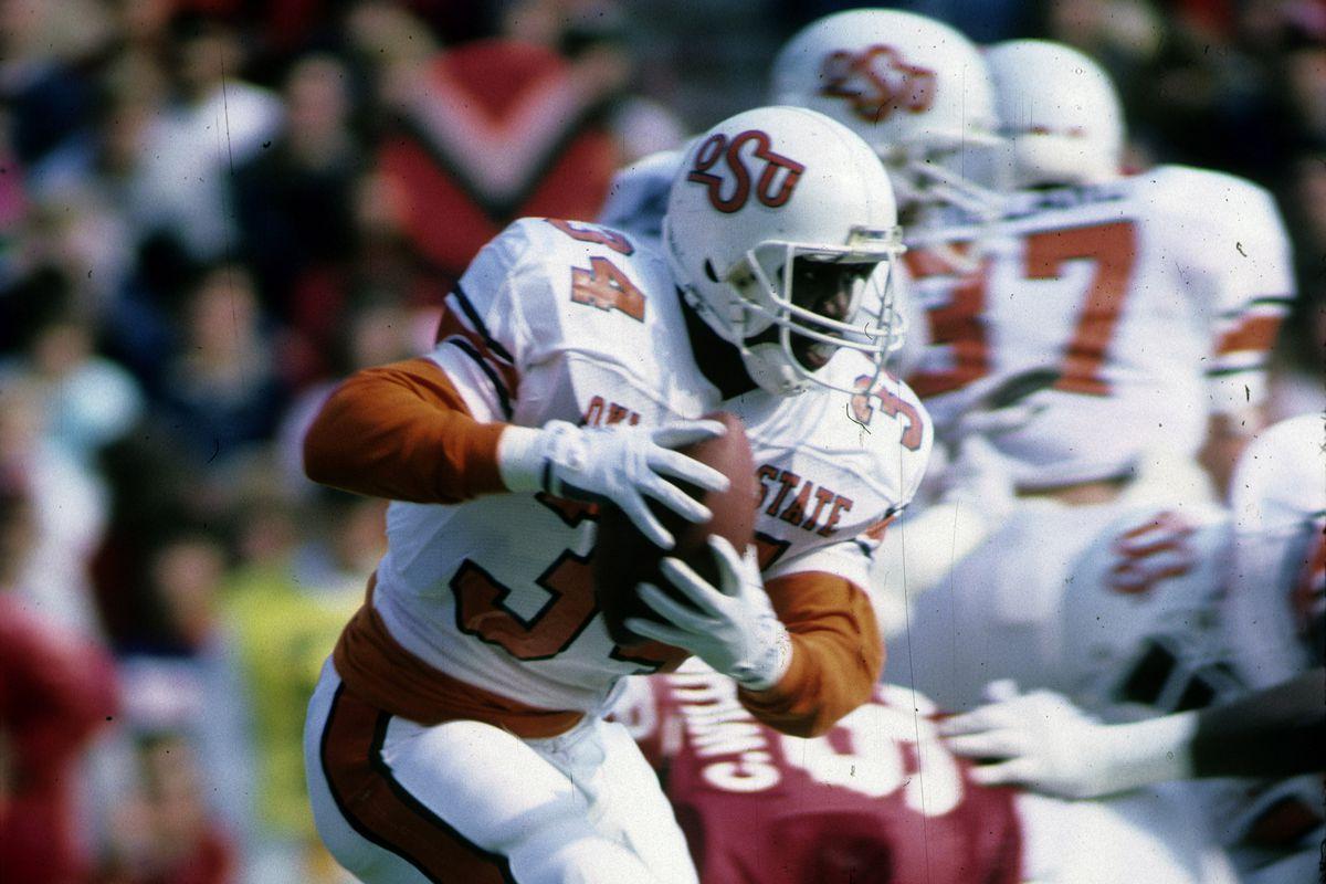 Thurman Thomas - Oklahoma State University Cowboys - File Photos