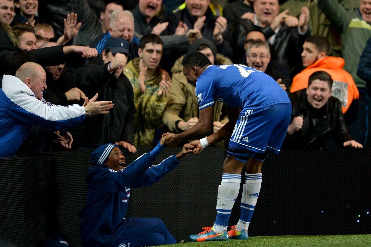 That Time Samuel Eto O Celebrated A Hat Trick Against