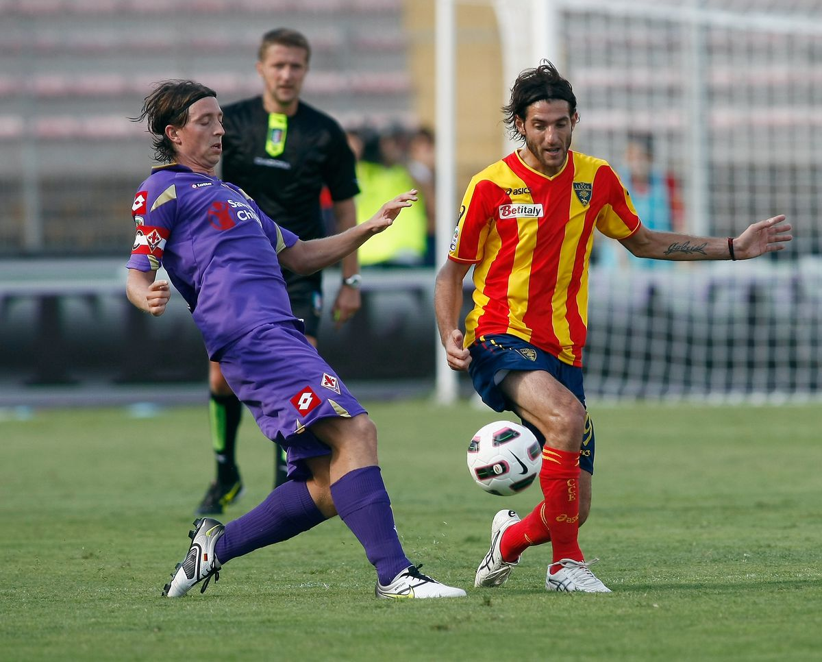Lecce v ACF Fiorentina - Serie A