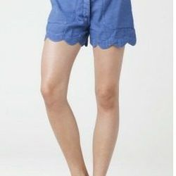 """<a href=""""http://us.mih-jeans.com/womens-jeans/the-scallop-short-zooey.html""""> MiH Jeans Scallop Short</a>, $189 us.mih-jeans.com"""